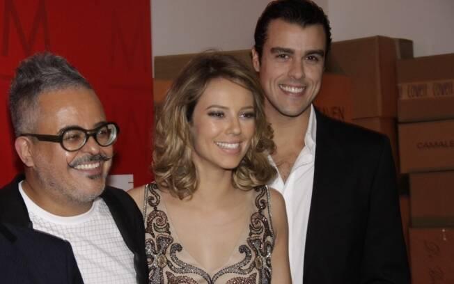 Ronaldo Fraga, Paola Oliveira e Joaquim Lopes