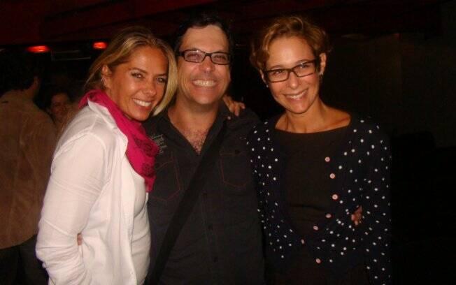 Adriane Galisteu, Lúcio Mauro Filho e Andréa Beltrão