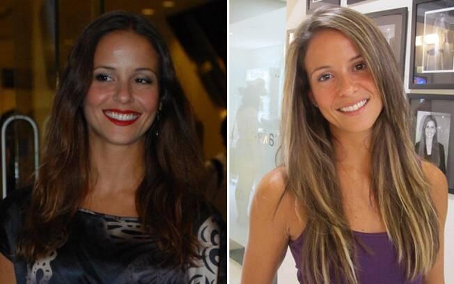 Fernanda de Freitas: antes e depois