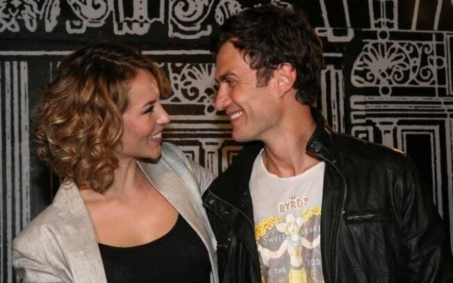 Paola Oliveira e Gabriel Braga Nunes