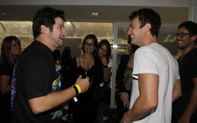 Murilo Benício e Gabriel Braga Nunes