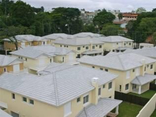 Telhados claros diminuem a carga térmica das construções