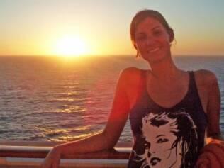Karen Roedel gostou do cruzeiro de moda e vai fazer a viagem novamente