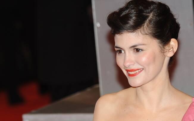 Audrey Tautou veio ao Brasil para participar do Festival Varilux de Cinema Francês