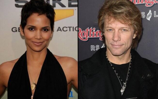 Halle Berry e Jon Bon Jovi: casal nas telonas