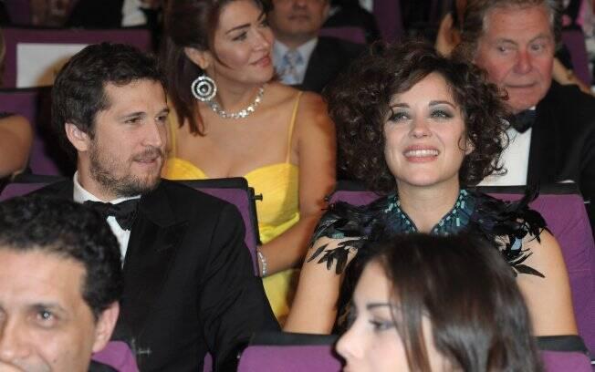 Guillaume e Marion Cotillard: o casal espera um filho para junho