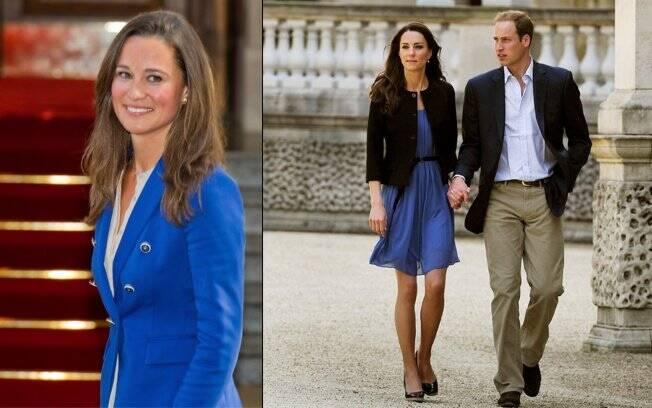 Pippa e Kate Middleton também vestem roupas da mesma marca