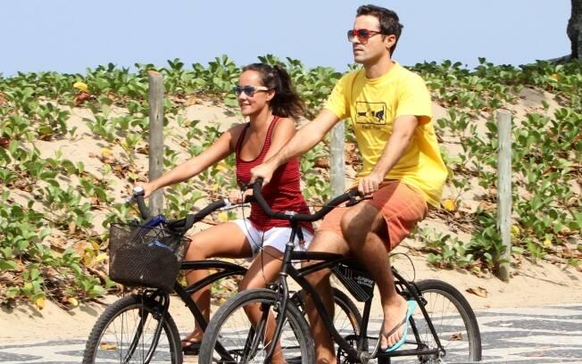 Ricardo Pereira e a mulher Francisca Pinto
