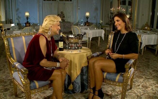 Hebe Camargo e Ivete Sangalo: entrevista rendeu temas como carreira, maternidade, fãs e casamento