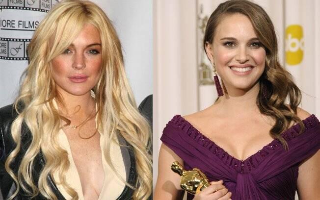 Lindsay Lohan e Natalie Portman