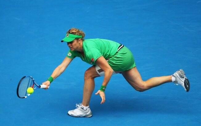 625a0e874 Não está à venda O Fila Torneo de Kim Clijsters leva seu nome na ponta.