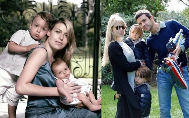 Barbara Berlusconi é clicada em família