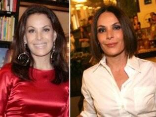 Carolina Ferraz: antes e depois