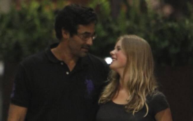 Luciano Szafir e a namorada, Julia Rusatsky