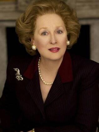 Meryl Streep em versão Margaret Thatcher