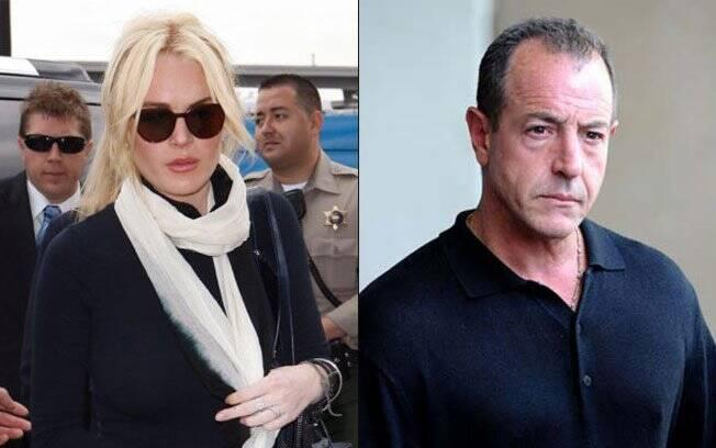Lindsay Lohan e o pai Michael Lohan
