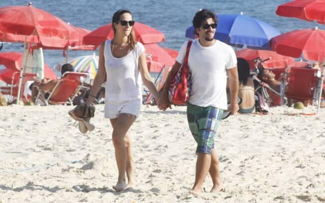 Bruno Gagliasso e Giovanna namoram