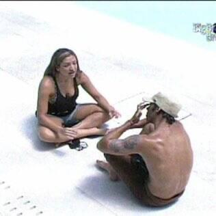 Natália e Maurício expõem seus pontos de vista em relação um ao outro