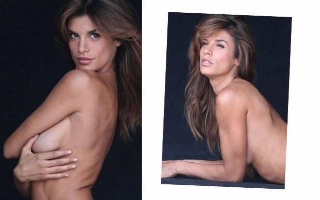 Elisabetta Canalis e as poses para a campanha da PETA