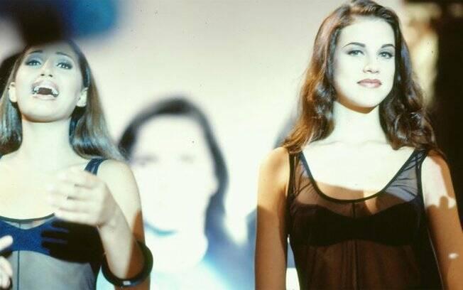Camila Pitanga e Luana Piovani disputavam um concurso de beleza na minissérie