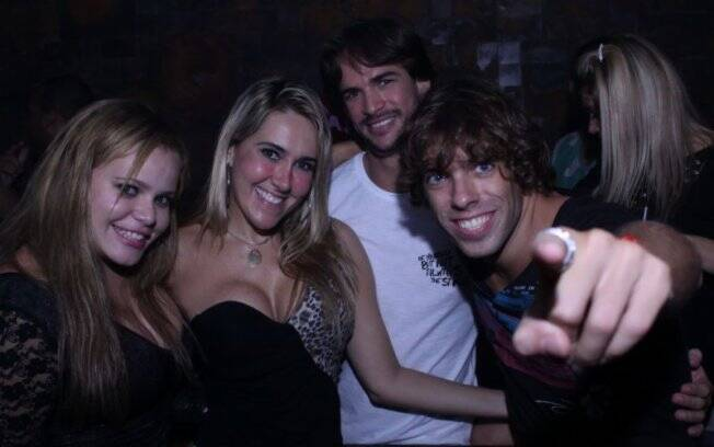 Paulinha, Eneida, Rodrigo e Maurício