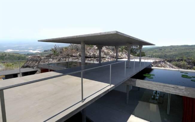 """O projeto para o Museu do Igatu, em Andaraí (BA), faz parte da mostra """"Arquitetura Brasileira: Viver na Floresta"""", que tem curadoria de Abílio Guerra"""