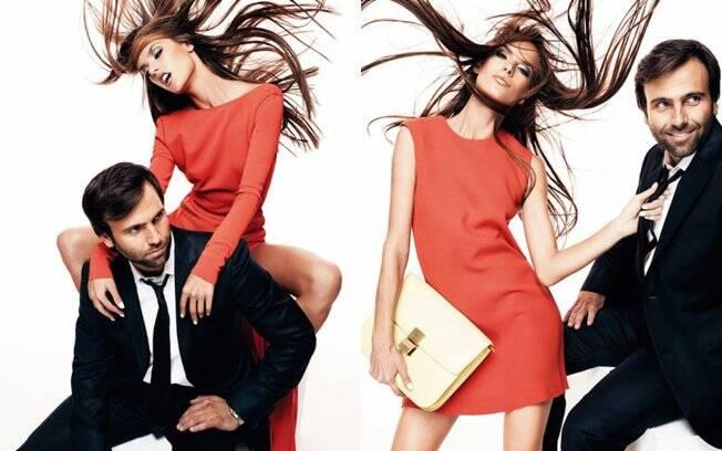 Esta é a segunda capa do casal para a campanha do dia dos namorados