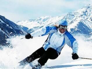 Leve a família para esquiar