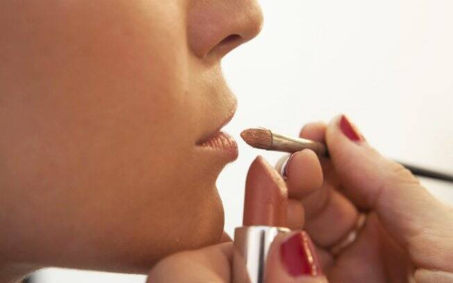 O efeito geladinho nos lábios sai gradativamente
