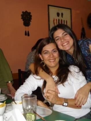 Márcia Cristina Moreira e a filha Juliana Moreira Jordão