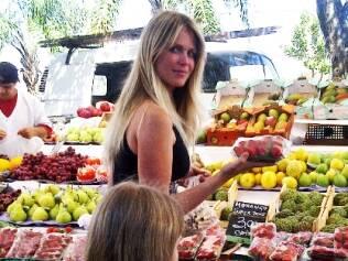 Susana Werner escolher a sobremesa