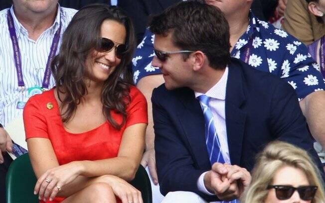 Pippa Middleton e Alex Loudon em plena sintonia