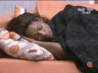 Jaque e Rodrigão pegam no sono