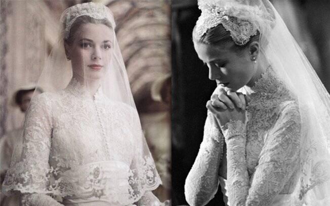 Kate Middleton escolheu o vestido de casamento de Grace Kelly como referência para o seu