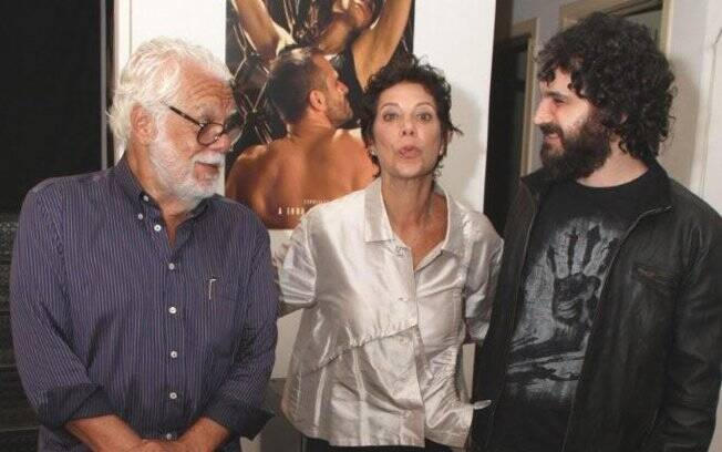 Manoel Carlos, Ângela Vieira e Caco Ciocler