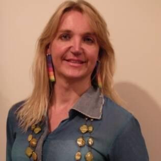 A professora de artes Marina Reidel, 40