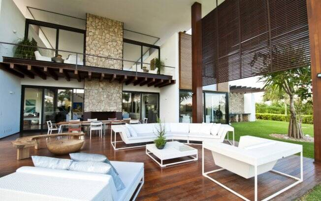 A for a do design dentro de casa decora o ig Casas modernas grandes por dentro