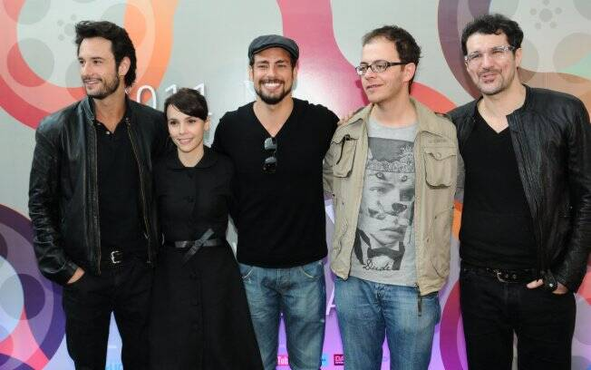 Rodrigo Santoro, Débora Falabella, Cauã Reymond, André Ristum e Nicola Siri