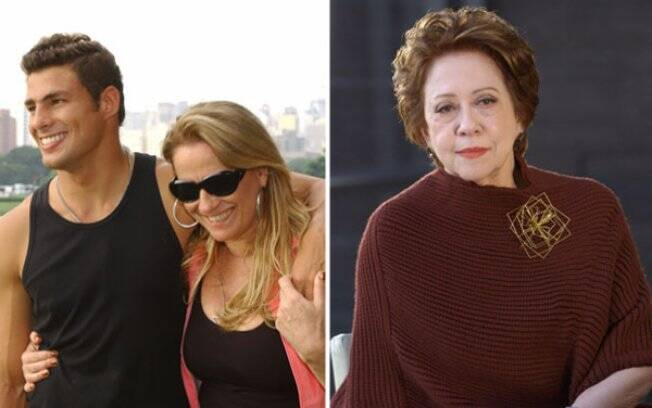 Mateus (Cauã Reymond) saía com Ornela (Vera Holtz), mas terminou ao lado de Bia Falcão (Fernanda Montenegro) em