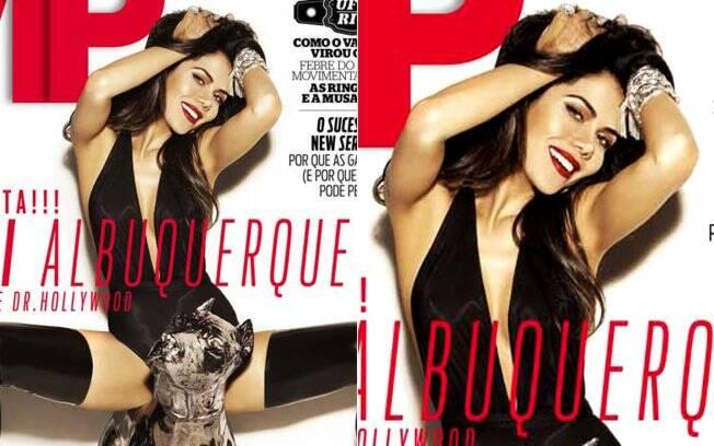 Daniela Albuquerque na capa da VIP