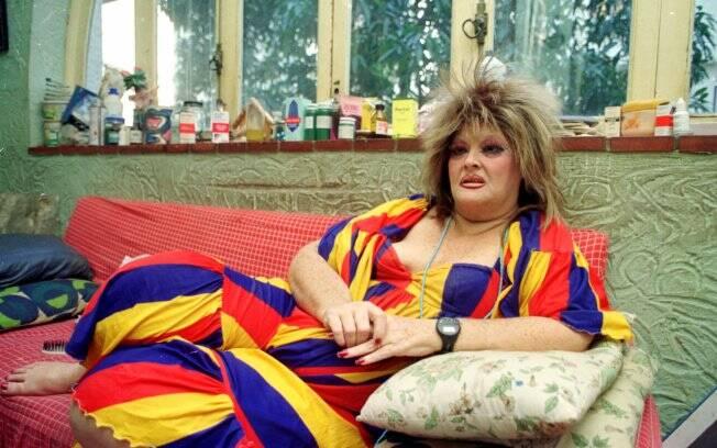 Wilza Carla em foto de 28 de janeiro de 1993, durante entrevista no Rio de Janeiro