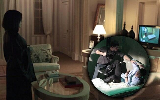 Norma observa Léo ser maltratado no canil