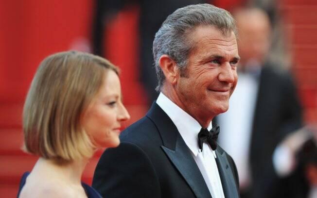 Mel Gibson, Jodie Foster na première de
