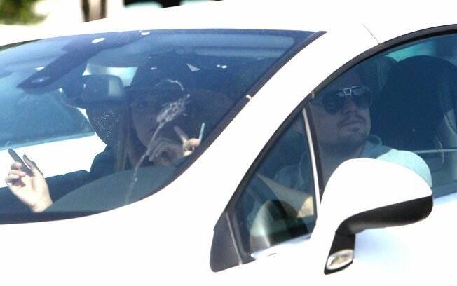 Leonardo DiCaprio e Blake Lively chegaram à Portofino no mesmo carro