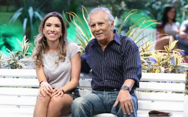 Patricia Abravanel e Carlos Alberto de Nóbrega