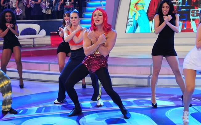 Rodrigo Faro vira integrande do grupo Spice Girls
