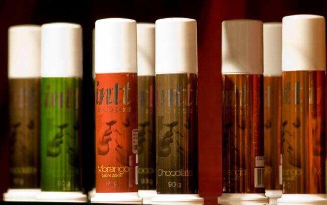Gel lubrificante tem sabor de frutas e chocolate