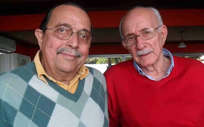 Carlos Araújo com Reynaldo Boury, diretor de