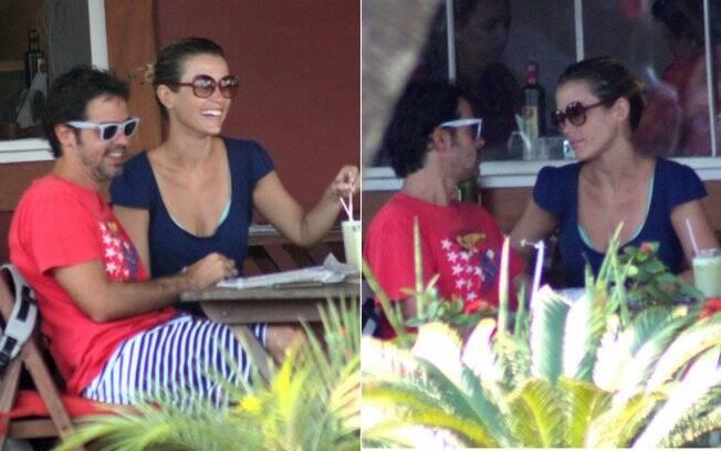 Bruno Mazzeo e Juliana Didone: é namoro!