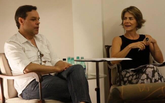 Diogo Vilela e Maitê Proença ministram no Rio